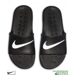 Chancla Nike KAWA SHOWER Negro-Blanco