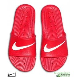 Chancla Nike KAWA SHOWER Rojo-Blanco