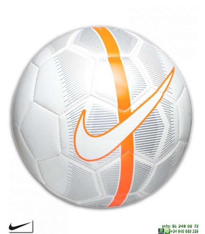 a3b52bc7179b2 Balon Futbol Nike MERCURIAL FADE Blanco-Naranja SC3023-100 personalizar