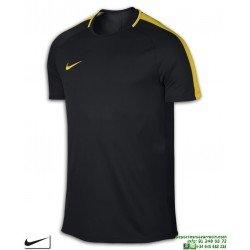 Camiseta Deporte NIKE DRY ACADEMY TOP Negro-Amarillo Poliester dri fit Hombre 832967-014