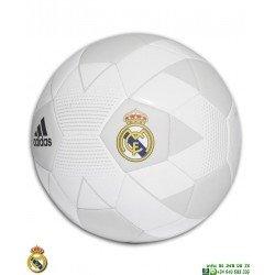 Balon Futbol REAL MADRID Blanco-Beige Adidas Oficial CW4166 personalizar imagen foto nombre
