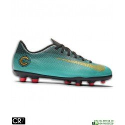 Nike MERCURIAL VAPOR 12 CLUB CR7 Niño JADE Futbol