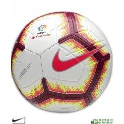Balon Futbol de la Liga 2018-2019 Nike STRIKE LFP SC3313-100 blanco PERSONALIZAR
