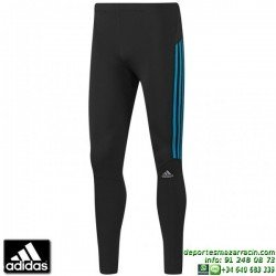 ADIDAS response long tight Malla correr larga lycra NEGRO running atletismo D79956