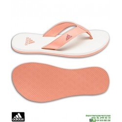 Chancla Chica ADIDAS Beach Thong 2 K Beige-Coral sandalia mujer CP9379 playa piscina woman