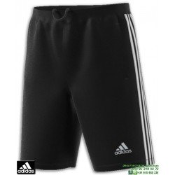 Pantalon Corto ADIDAS D2M 3S SHORT Negro Cremallera Bolsillo BP9111 hombre