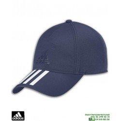 Gorra ADIDAS C40 6P 3S CLMLT Azul Marino CG2317 deporte transpirable visera tenis padel