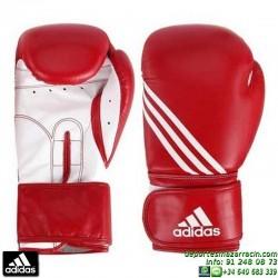 Guante de Boxeo ADIDAS TRAINING PU Rojo personalizable nombre bandera adiBT02