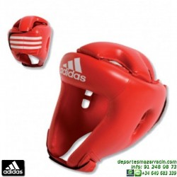 Casco Boxeo Niño ADIDAS Iniciacion Junior Rojo adibh01