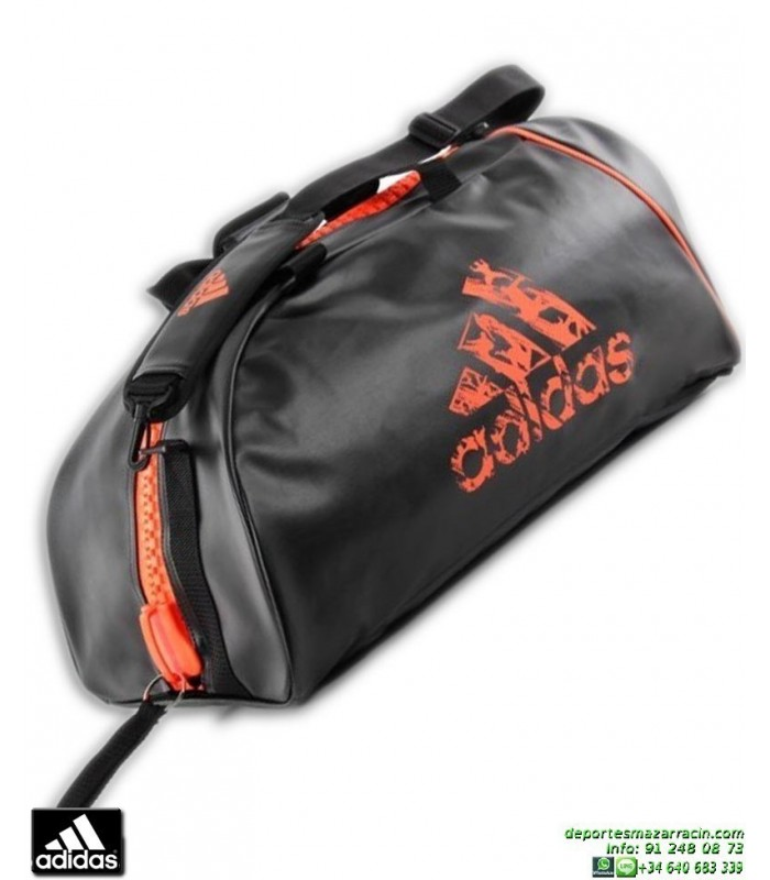 Deporte Para Marciales Adidas Rojo Bolsa Artes Convertible Negro QBoCxerdW