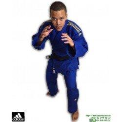 Kimono Judo ADIDAS CHAMPION 2 Judogi homologado IJF Azul