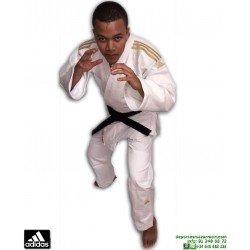 Kimono Judo ADIDAS CHAMPION 2 Judogi homologado IJF Blanco