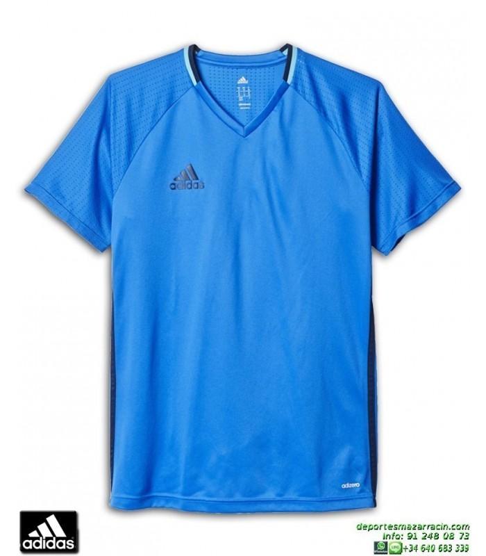 Camiseta Deporte ADIDAS CON16 TRG JSY Azul Royal Poliester Hombre AB3061 f517e9e51d44b