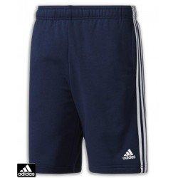 Pantalon Corto Algodon ADIDAS ESS 3S SHORT FT Azul Marino BP5467 hombre