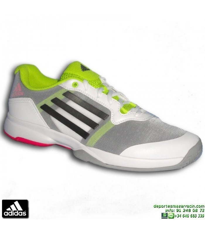 sale retailer 29f38 ba8c6 Zapatilla Tenis ADIDAS SONIC COURT Blanco AF5800 suela espiga pista