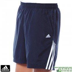 Pantalon Corto ADIDAS GALAXY SHORT Azul Marino Hombre V14213 climalite