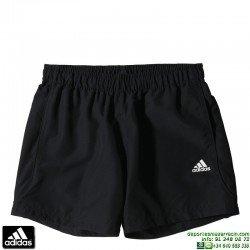 Pantalon Corto ADIDAS ESS CHELSEA Negro S17593 climalite Tactel short tenis padel