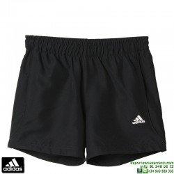 Pantalon Corto Junior ADIDAS YB ESS CHELSEA Negro AC1598 niño climalite Tactel short tenis padel