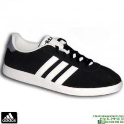 Sneakers Clasica ADIDAS VLCOURT NEO Piel Negra F99137 hombre zapatilla
