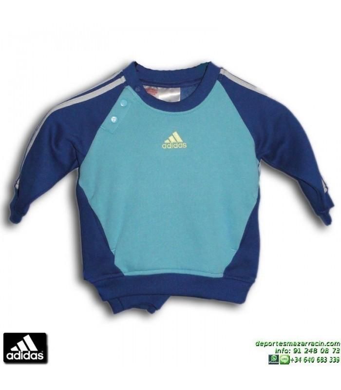Chandal Bebe ADIDAS INF 3S JOGGER Algodón Azul Marino 082762 Baby Niño 5e32e9a8cc4