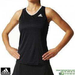 Camiseta Tirantes Mujer ADIDAS  CLUB TANK Negro AJ3215 climalite deporte