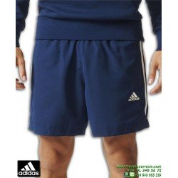 Pantalon Corto ADIDAS ESS 3S CHELSEA Azul marino BQ0759 hombre tenis padel