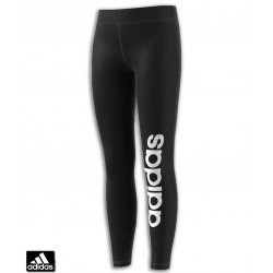 Malla Larga Chica ADIDAS  YG GU LIN TIGHT Negro-Blanco BQ2878