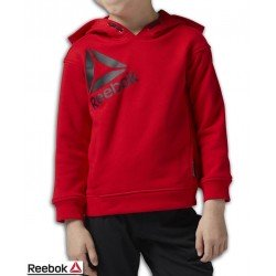 Sudadera Junior REEBOK Boys Essentials Over the Head Capucha Roja BS1433