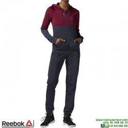Chandal Mujer REEBOK EL TS TRICOT Morado AY2056 Poliester elastico