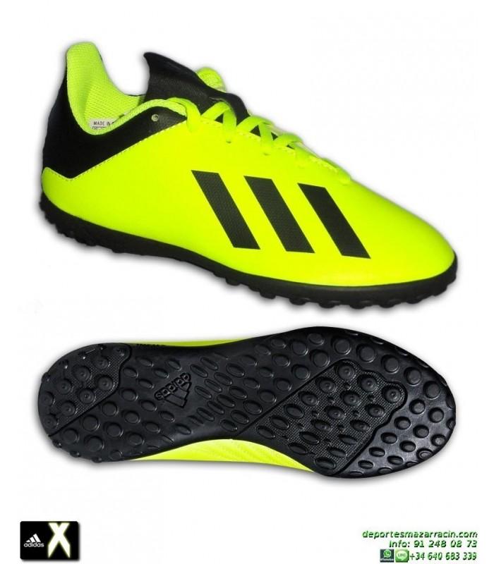 online store 9be16 a5060 ADIDAS X Niño Tango 18.4 Amarillo Fluor Zapatilla Futbol Turf Minitacos  DB2435 Bale Luis Suarez Marcelo Ampliar