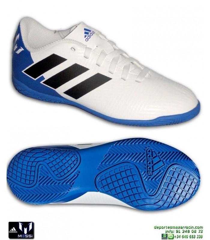 quality design 483d2 1625e ADIDAS NEMEZIZ MESSI Niños Tango 18.4 Blanca Zapatilla Futbol Sala DB2398  Junior Ampliar