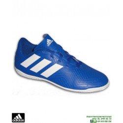 ADIDAS NEMEZIZ Niños Tango 18.4 Azul Zapatilla Futbol Sala DB2384 Junior Lucas Vazquez