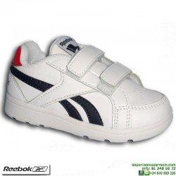 Zapatilla Clasica Infantil REEBOK ROYAL PRIME ALT Velcro Blanco V70003 niño junior