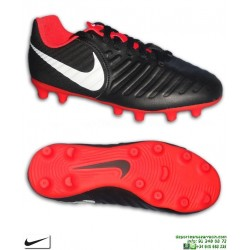 Nike TIEMPO LEGEND 7 Niño Negro-Rojo Bota Fútbol FG-R AO2300-006 sergio ramos pique