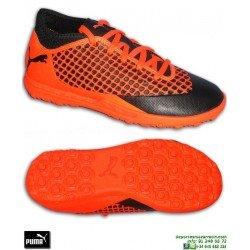 PUMA FUTURE 2.4 Niños Griezmann Naranja Zapatilla Futbol Turf 104845-02