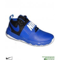 NIKE TEAM HUSTLE D 8 Bota Baloncesto Junior Azul 881941-405 bota zapatilla basket