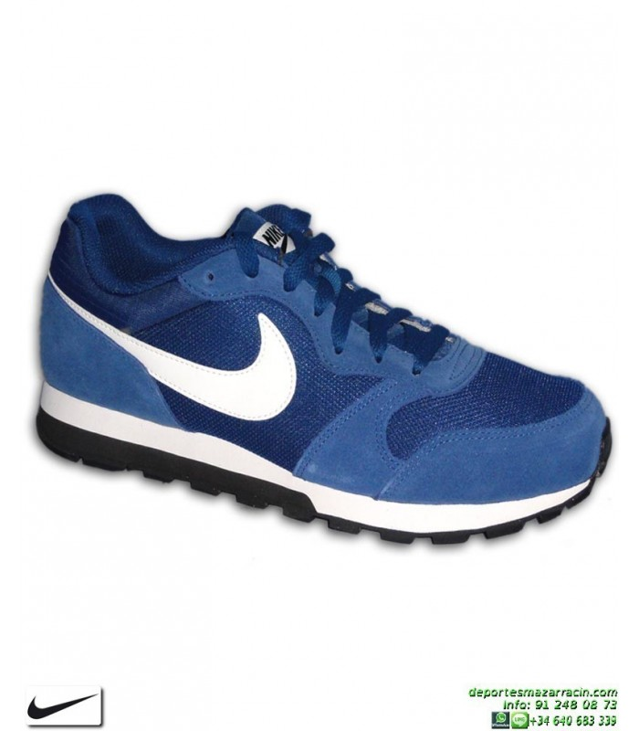 hot sale online 918b7 463a3 Deportiva Nike MD RUNNER 2 Azul Royal Hombre zapatilla clasica 749794-401  sneakers personalizable