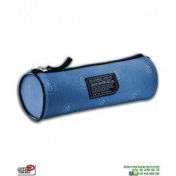 Estuche Escolar John Smith B18215-007 Azul Acero plumer portalapices