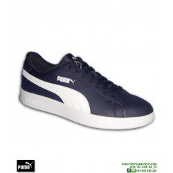 Zapatilla Moda Calle Puma SMASH Azul Marino-Blanco sneakers hombre zapatilla clasica sport 365215-05