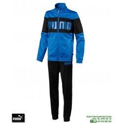Chandal Niño PUMA REBEL SUIT Azul Marino junior 852132-37 poliester acetato deporte chaqueta pantalon tracksuit