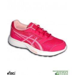 Zapatilla Running chica ASICS STORMER GS Rosa
