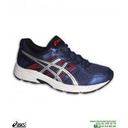 Zapatilla Running Asics GEL CONTEND 4 Hombre Azul Marino neutra deportiva correr atletismo pisada neutra T715N-400