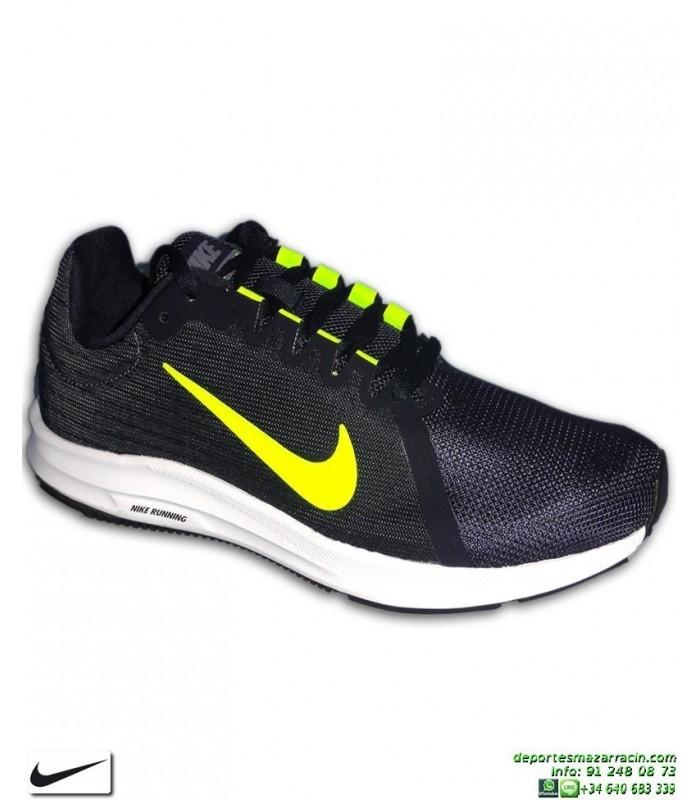 Zapatilla Azul Hombre 908984 007 8 Deporte Downshifter Nike Marino WD2HIeE9Y