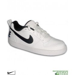 best website 1f19d 6510c Sneakers Nike COURT BOROUGH LOW Junior Blanco-Negro