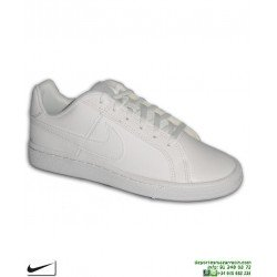 Zapatilla Blanca Completa Nike EBERNON Mujer AIR FORCE 1 deportiva sneakers