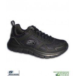 Zapatilla Skechers TRACK SCLORIC Negro para Hombre 52631/BBK plantilla Memory Foam