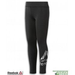Malla Pantalon Chica REEBOK ADV BASIC LEGGING Negro-Blanco DH4287