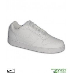 Zapatilla Blanca Completa Nike EBERNON LOW AIR FORCE 1 deportiva sneakers AQ1175-100