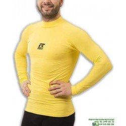 Camiseta Termica Amarilla ROX Gold Hombre Manga larga 38207.019 senior adulto futbol atletismo tenis