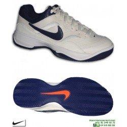Zapatilla Tenis Padel NIKE COURT LITE CLAY Suela Espiga 845026-003 Blanca deporte personalizar